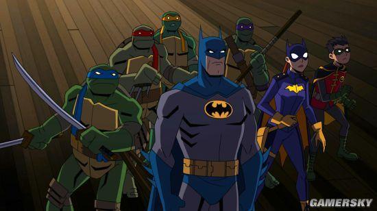 忍者神龟与蝙蝠侠